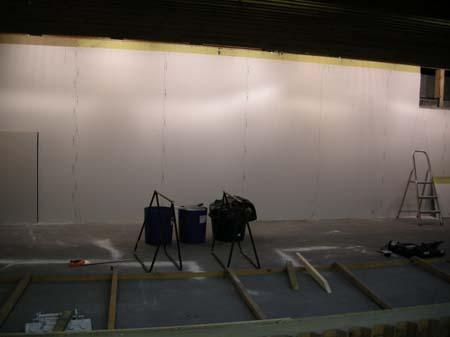 Renovering af skydebane 9/8 2007
