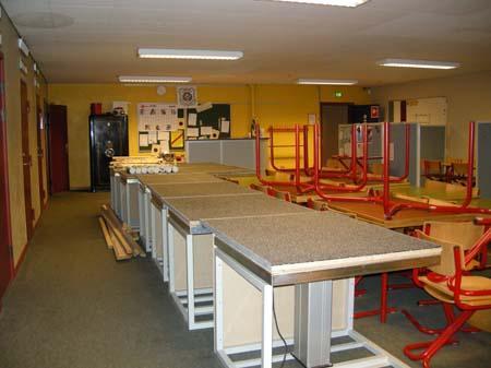 Renovering af skydebane 27/6 2007